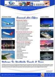 We deal in airlines packages