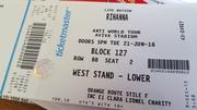 3 Rhianna Tickets