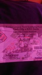 cork city v genk tickets