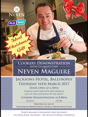 NEVEN MAGUIRE COOKERY DEMO